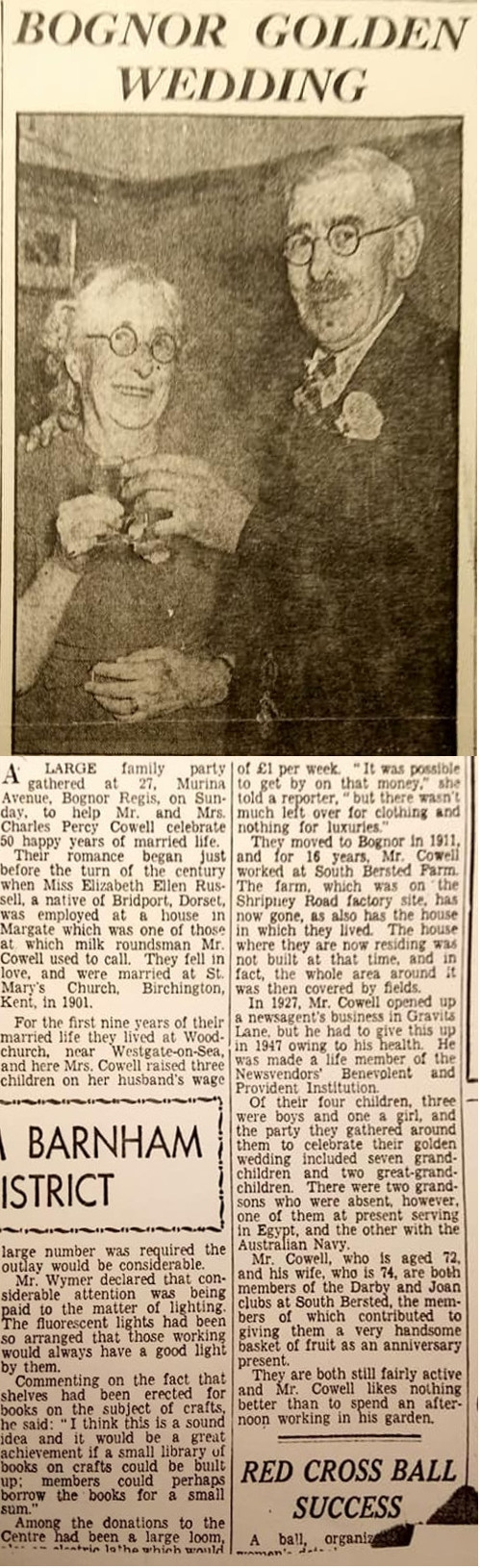 Bognor Post - 3 Nov 1951