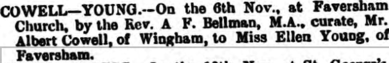 Canterbury Journal, Kentish Times and Farmers' Gazette 20 Nov 1886