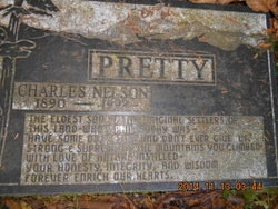 Charles Nelson Pretty - headstone