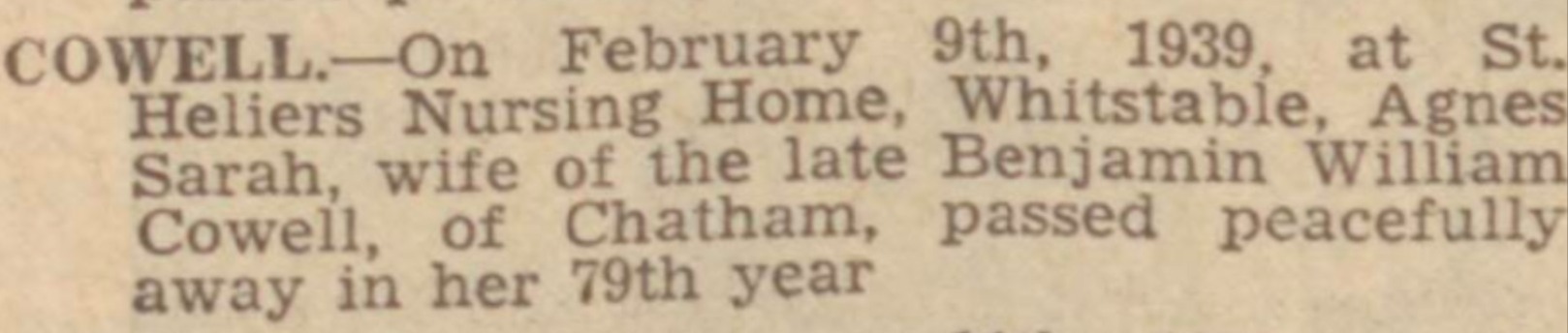 Chatham News 17 Feb 1939