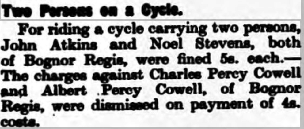 Chichester Observer 30 January 1935