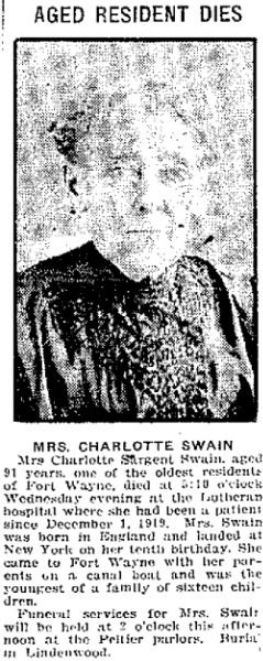 Fort Wayne Gazette 19 Mar 1920