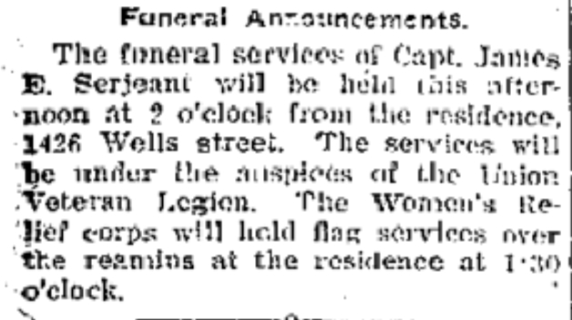 Fort Wayne Journal Gazette 8 Jul 1906