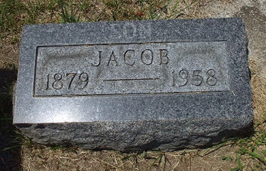 Jacob Bryant - headstone