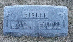 John Bixler and Catherine