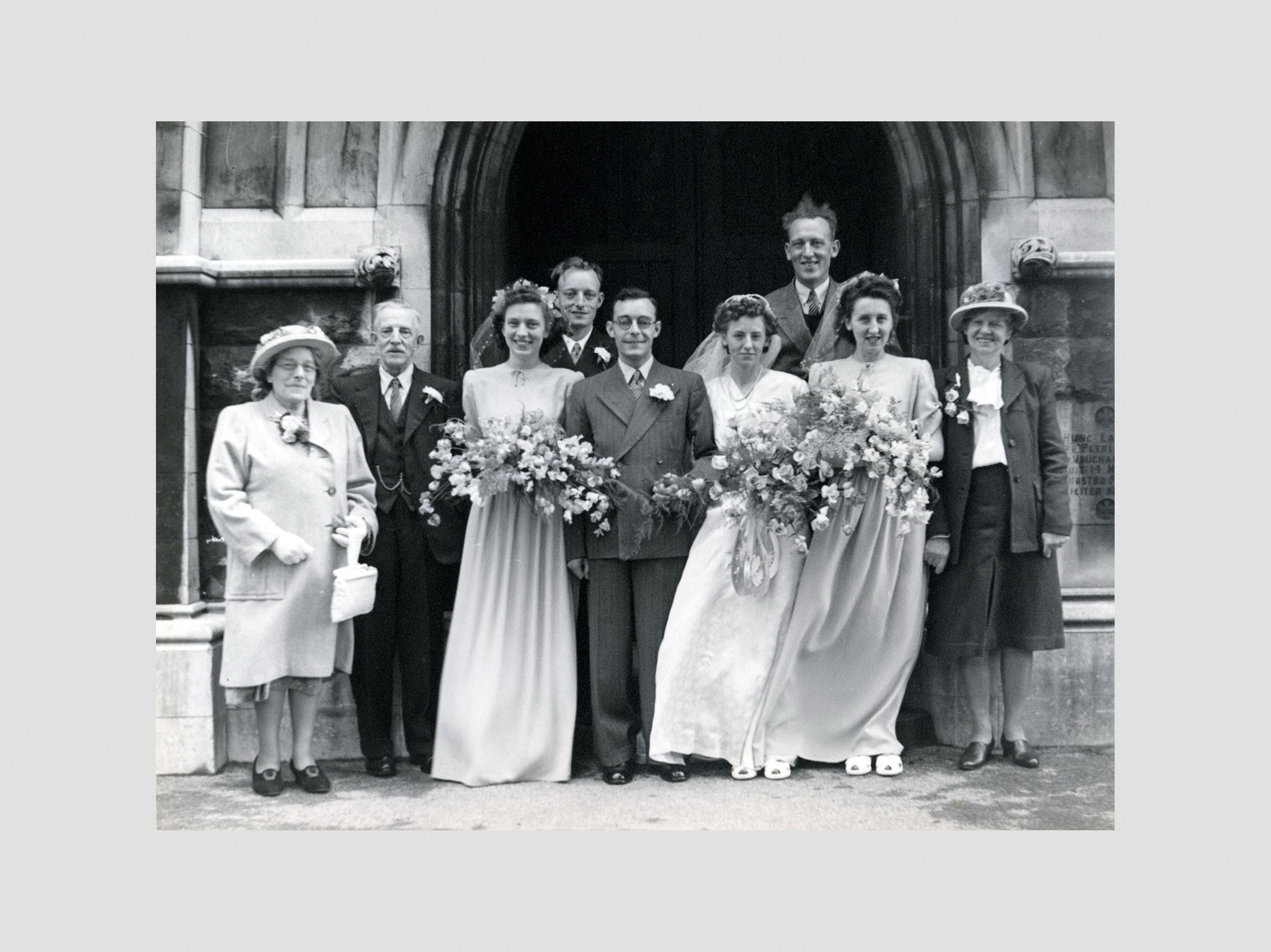 Marriage of Bernard Standing to Rose Jackson