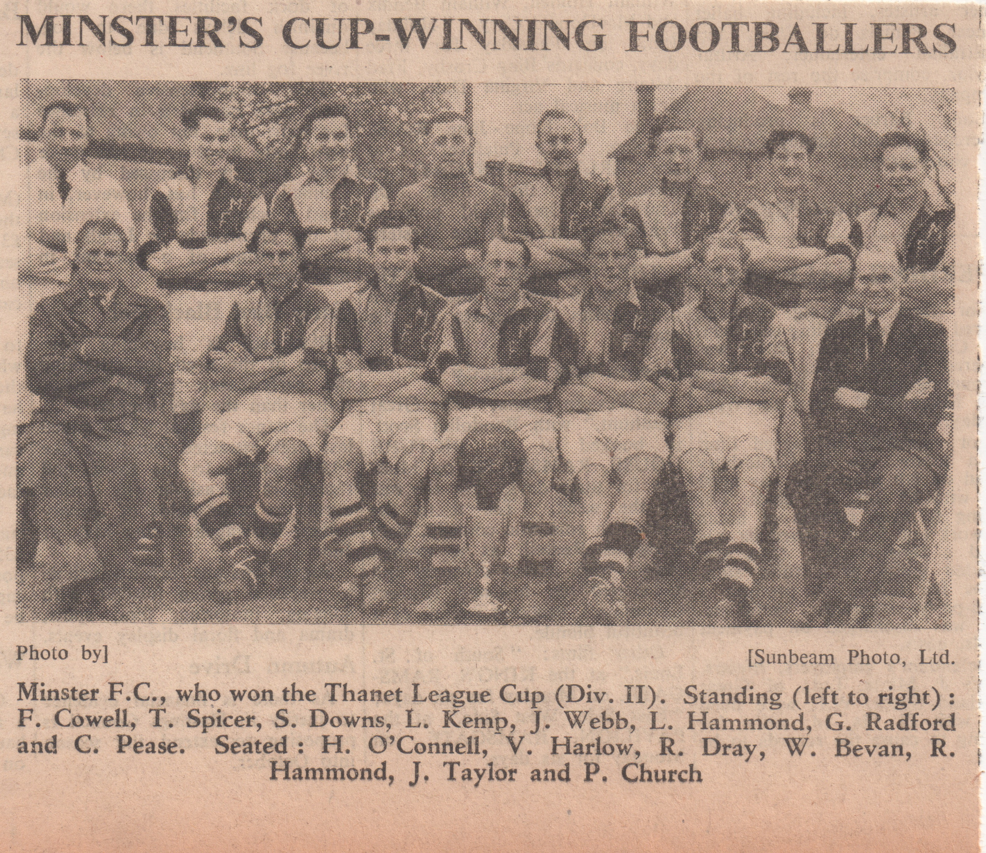 Minster FC Clipping