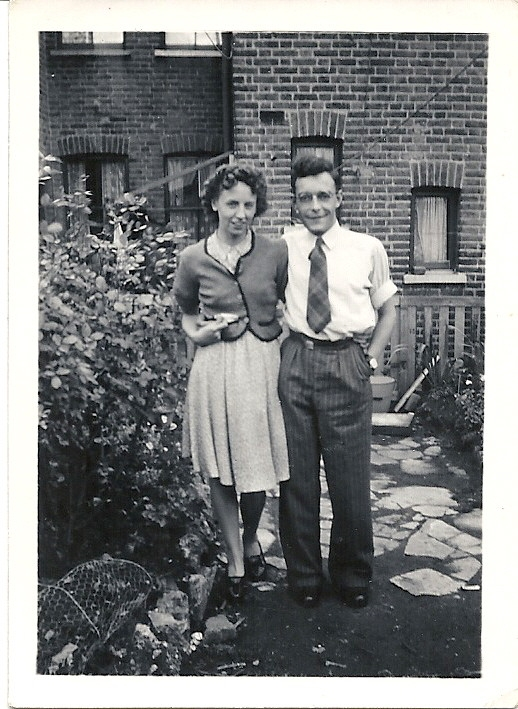 Rose Jackson and Bernard Standing