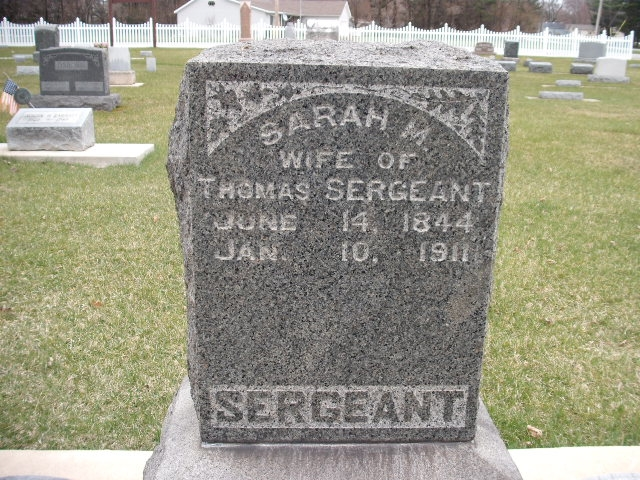 Sarah Margaret McGraw - Headstone