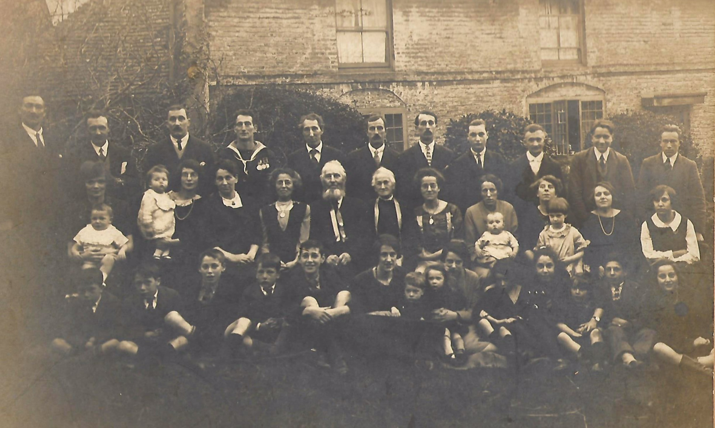 Spratt Family Photograph