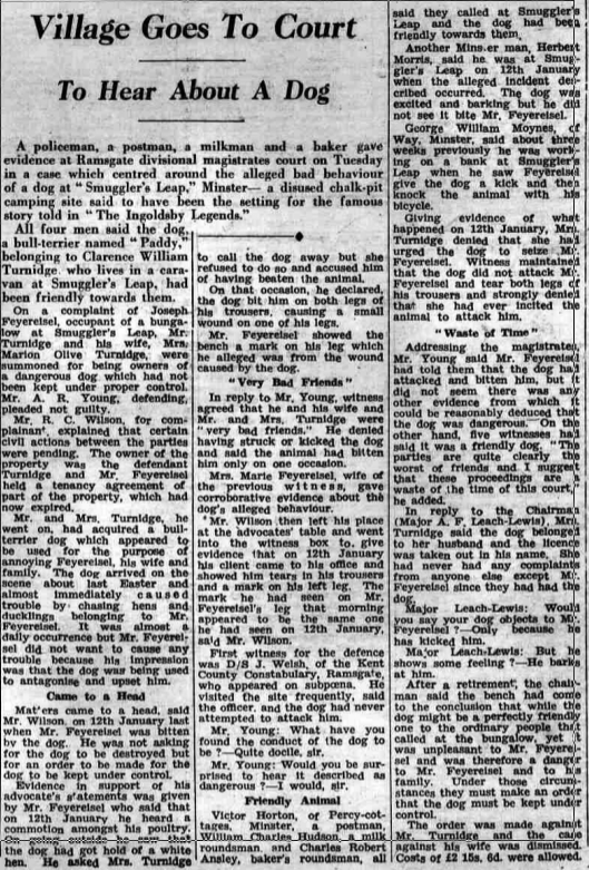 Thanet Advertiser - 14 Feb 1950