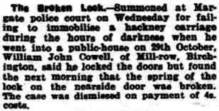Thanet Advertiser 18 Nov 1941