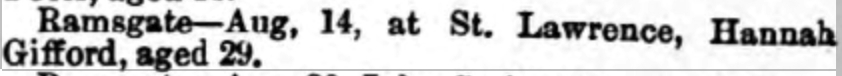 Thanet Advertiser - 22 Aug 1896