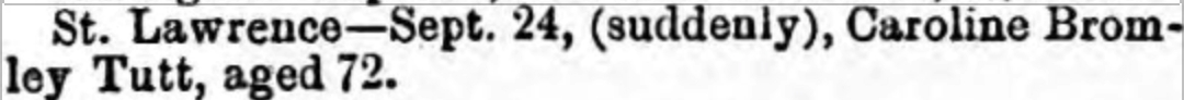 Thanet Advertiser 26 Sep 1891