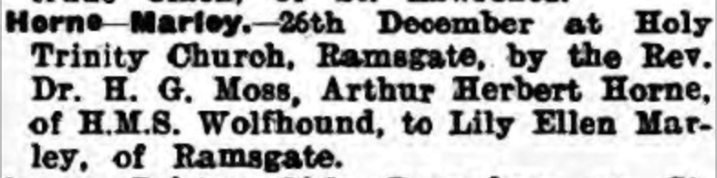 Thanet Advertiser 3 Jan 1933