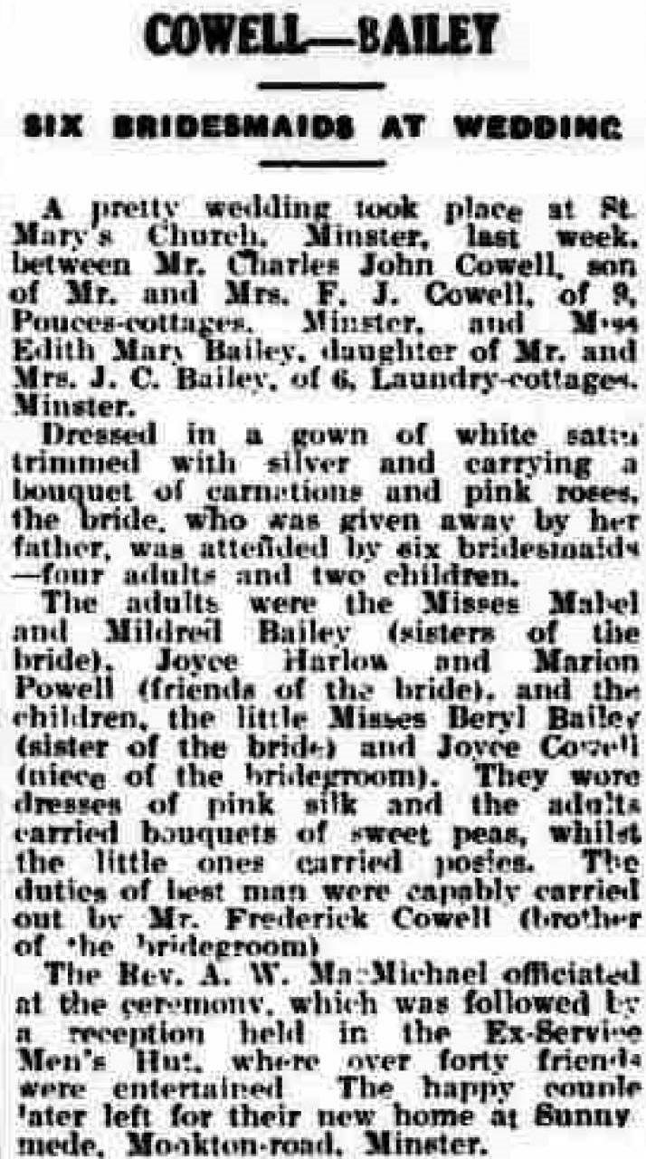 Thanet Advertiser - 6 Jun 1936