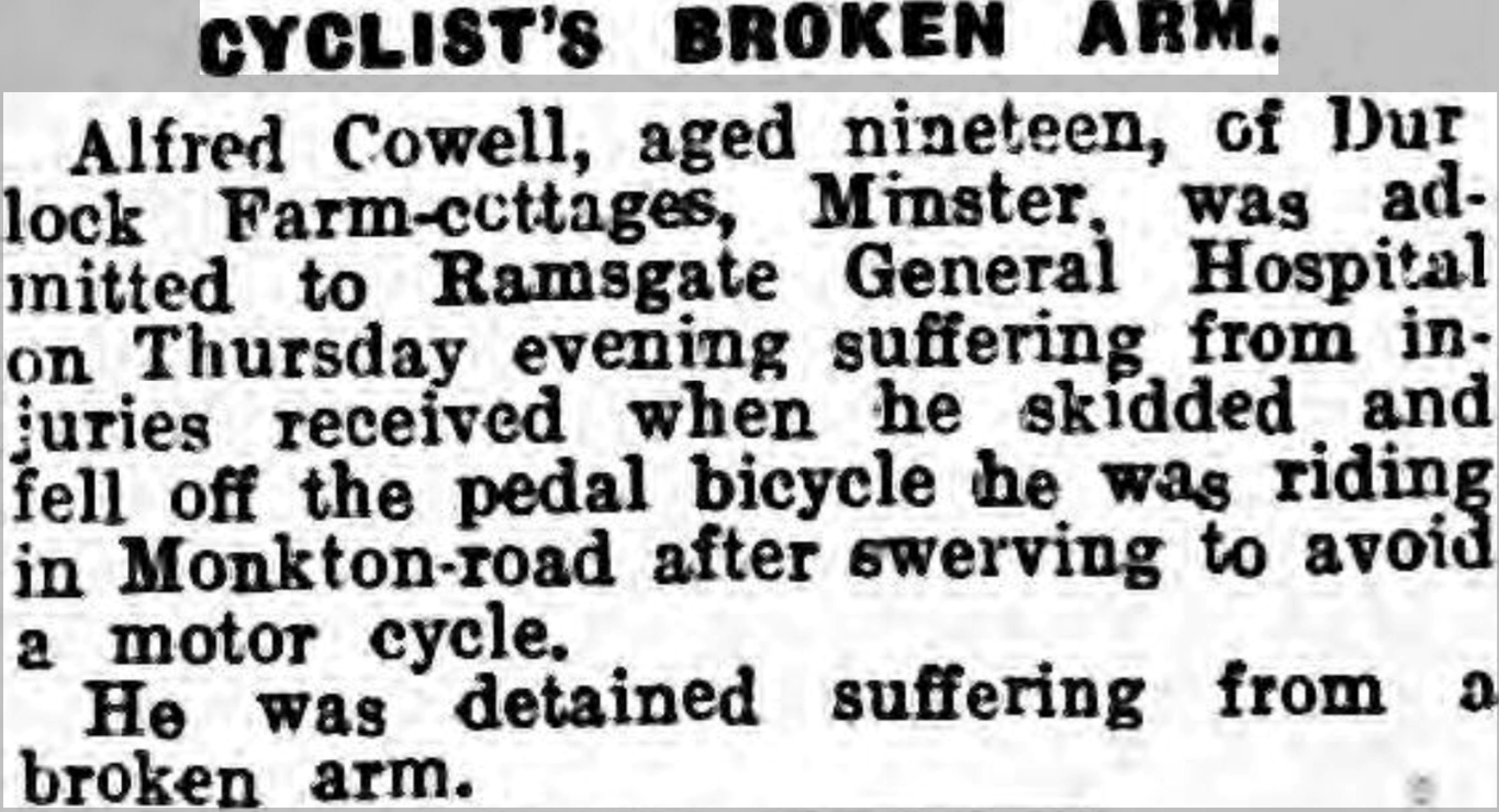 Thanet Advertiser - 7 Feb 1933