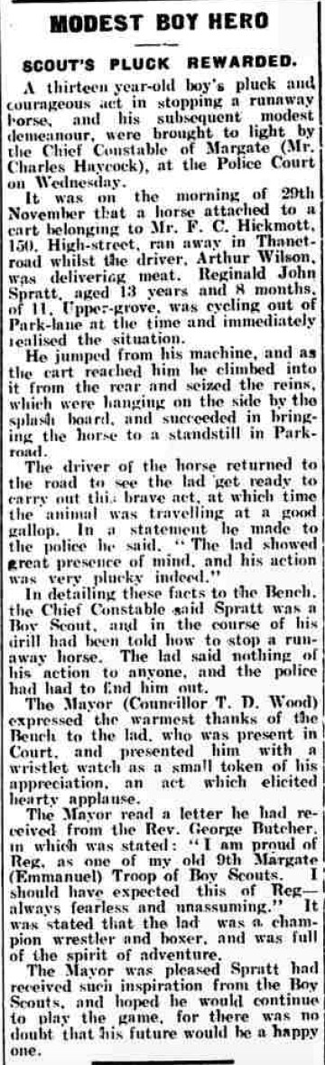 Thanet Advertiser December 20, 1924