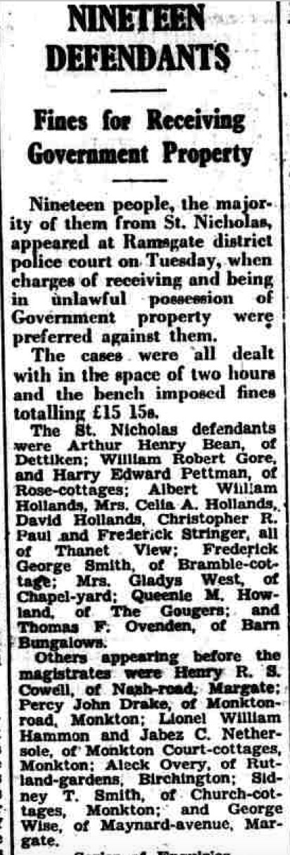 Thanet Advertiser September 1, 1944