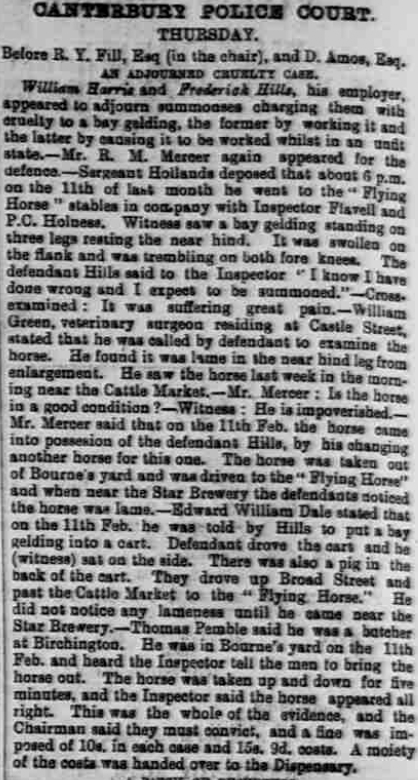 Whitstable Times and Herne Bay Herald 11 Mar 1893
