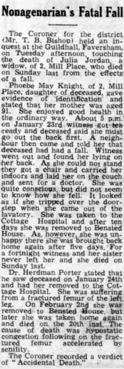 Whitstable Times and Herne Bay Herald 26 Feb 1944