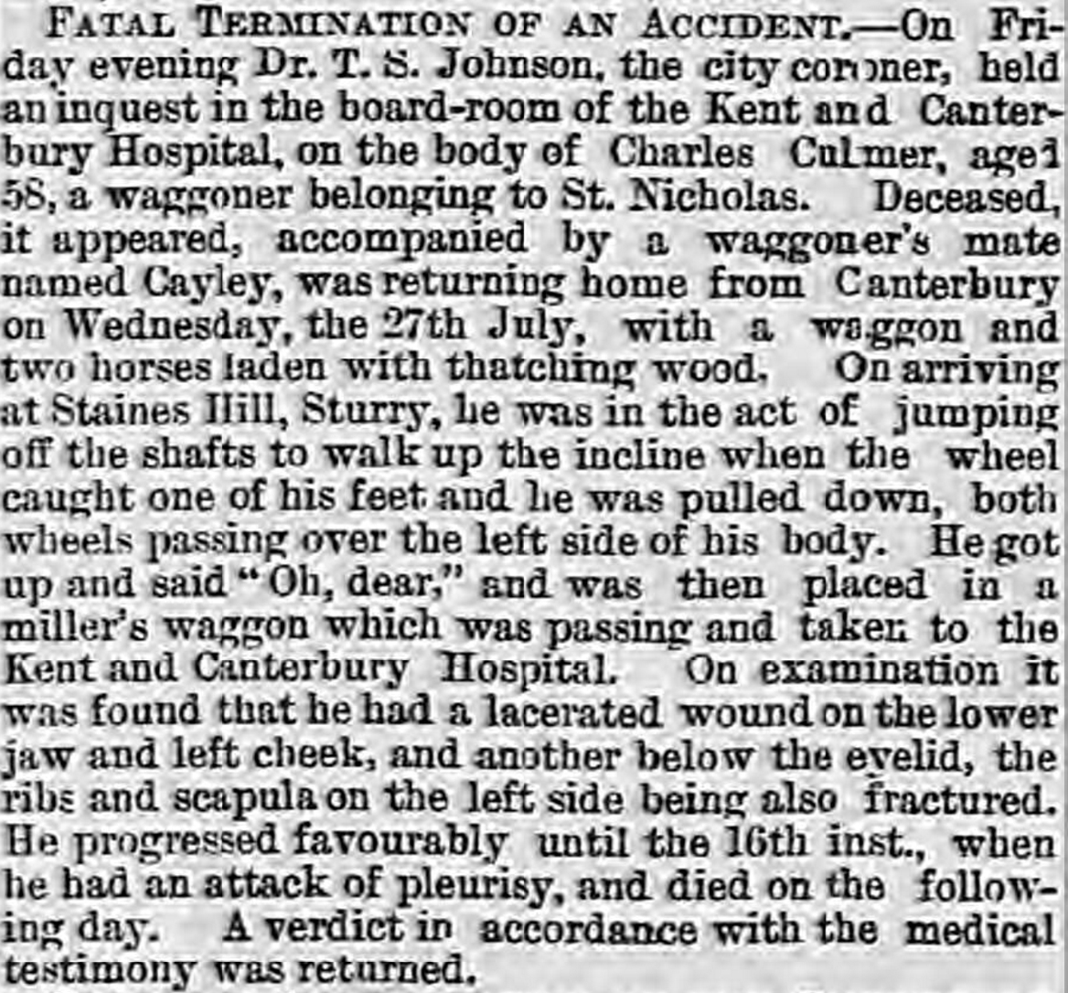 Whitstable Times and Herne Bay Herald - 27 Aug 1881